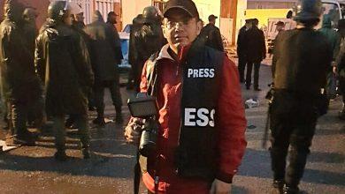 صورة خطير صحفي بمدينة الدار البيضاء يتعرض لحادثة سير مع جنحة الفرار بشارع لالة الياقوت