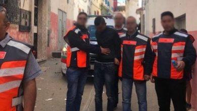 صورة أمن طنجة يلقي القبض على قاتلي صديقهما المتشرد