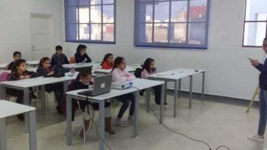 """Photo of جمعية الأقلام المغربية تنظم ورشة القراءة والتعبير لفائدة الأطفال بالمكتبة الوسائطية للمؤطرة :"""" يسرى امشيشو """""""