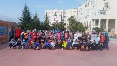 Photo of الشطر الثالث من برنامج طنجة الكبرى تتنفس كرة السلة يلج فضاء مدرسة العرفان