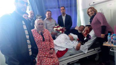 Photo of الفقيه العلوي طريح الفراش بمستشفى ابن سينا