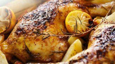 Photo of دجاج مشوي بالأعشاب والليمون