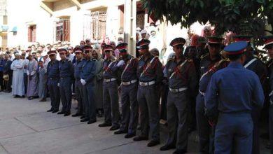صورة تشييع جثمان الدركي سعيد الذهبي الذي تعرض لحادث دهس ضواحي طنجة