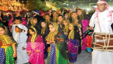 """Photo of ليلة """"القرنقعوه"""" في قطر"""