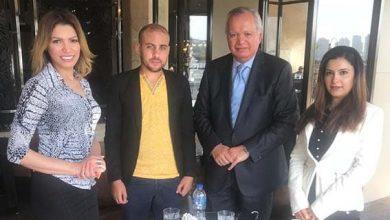 Photo of مبادرة 1000 كاتب تجتمع بالسفير محمد العرابي لتحقيق السلام العالمي