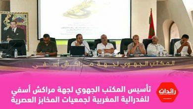 صورة تأسيس المكتب الجهوي لجهة مراكش أسفي للفدرالية المغربية لجمعيات المخابز العصرية