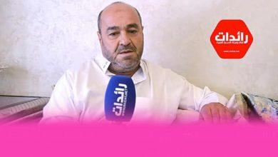 صورة أخ المرحوم حميد الزناتي ضحية حادثة سير طريق الموت سيدي قنقوش…يحمل عمدة مدينة طنجة المسؤولية