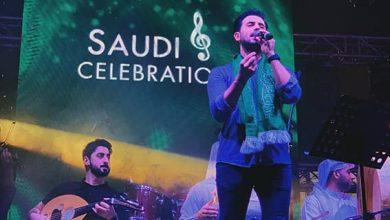 Photo of فؤاد عبد الواحد يحتفل باليوم الوطني السعودي الـ89 في دبي