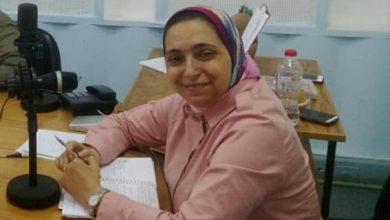 Photo of حوار مع المذيعة بإذاعة الاسكندرية امل درويش