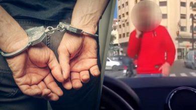 Photo of توقيف المشتبه فيه الذي ظهر في شريط فيديو وهو بصدد تعريض إحدى مستعملات الطريق للتهديد الجسدي واللفظي بالدار البيضاء