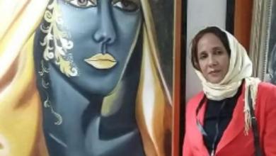 """صورة """"نجية خربوشي"""" فنانة تشكيلية تعشق الحياة، مبدعة ومتميزة بفنها الراقي وتميزها الإبداعي"""