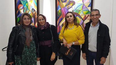 """Photo of """"تشابك"""" معرض تشكيلي لأبرز الفنانين المغاربة برواق شوفالي بالدار البيضاء : عبد المجيد رشيدي"""