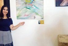 "Photo of الفنانة الشابة ""سلمى أوباد"" ترسم الحب والجمال في لوحاتها .. حاورها عبد المجيد رشيدي"