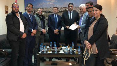 Photo of المكتب التنفيذي للشبيبة الاستقلالية في زيارة للسفير الفلسطيني لدعم ومساندة الشعب الفلسطيني