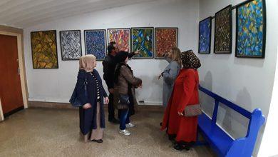 """Photo of """"إشعاعات لونية"""" .. معرض فردي للفنان التشكيلي عبد اللطيف صبراني بالدار البيضاء"""