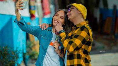"""صورة هند زيادي وزهير بهاوي يجتمعان في """"مجنونة"""" ويتصدران تريند في المغرب والجزائر"""