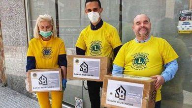 Photo of مقاول مغربي في إسبانيا يوزع المساعدات على الجالية والمتضررين من أزمة كورونا
