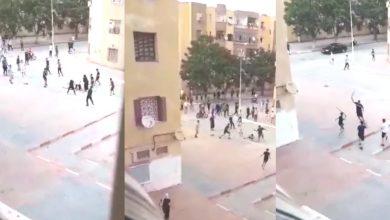 Photo of مصالح المديرية العامة للأمن الوطني تنفي فيديو تم تداوله يظهر فيه أشخاص يتبادلون الضرب والجرح بأسلحة بيضاء