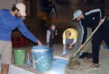 Photo of مبادراة شبابية تعمل على تزيين حي الوردة بمدينة طنجة