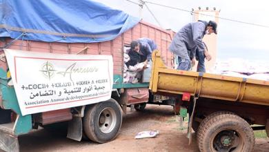 Photo of جمعية أنوار للتنمية والتضامن تساهم في مواجهة جائحة كورونا بضواحي مراكش