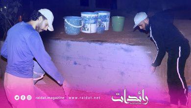Photo of مبادراة شبابية تعمل على تزيين حي الوردة بنديبان بمدينة طنجة