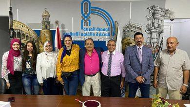 صورة الحضارات والثورة الصناعية الرابعة في ظل التعليم الالكتروني شعار المؤتمر الدولي الثامن للجمعية العربية للحضارة. الأول عن بعد أونلاين.