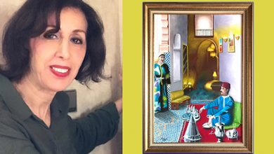 "Photo of الفنانة التشكيلية ""رشيدة الجوهري"" تمثل المغرب في ملتقى لندن الدولي للفن التشكيلي"