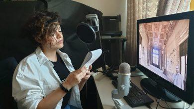 صورة سارة الجوهري تقدم التعليق الصوتي لأفلام قصر البارون