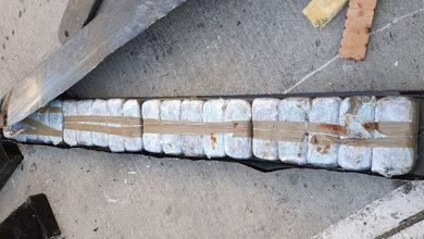 صورة عناصر الأمن الوطني والجمارك بميناء طنجة المتوسط، تتمكن من إجهاض محاولة لتهريب 192 كيلوغراما من مخدر الشيرا