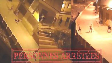 صورة طنجة – عناصر الشرطة القضائية بمنطقة أمن بني مكادة توقف سبعة أشخاص متورطون في قضية تبادل الضرب والجرح باستعمال السلاح الأبيض
