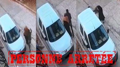 صورة توقيف شخص متورط في قضية تتعلق بالسرقة باستعمال العنف وتحت التهديد بواسطة السلاح الأبيض بطنجة