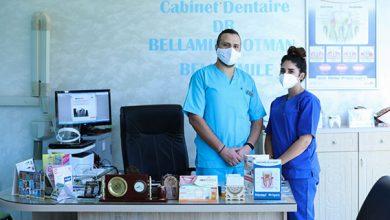 صورة الدكتور عثمان بللمين : الانسان من حيث التعامل والتمكن في مجال طب الاسنان