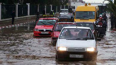 صورة اجتماع بمقر ولاية جهة الدار البيضاء بسبب الأمطار