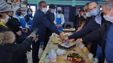 صورة افتتاح ورشة الفندقة بمدرسة الفرصة الثانية للا أسماء بالدار البيضاء :