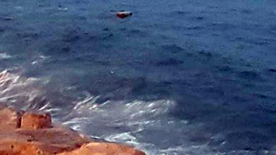 صورة طنجة – شاطئ مرقالة يلفظ رزمة من الحشيش