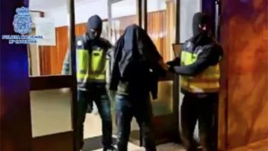 """صورة اعتقال ناشط من """"البوليساريو"""" بتهمة التحريض على ارتكاب أعمال إرهابية ضد مصالح المغرب"""