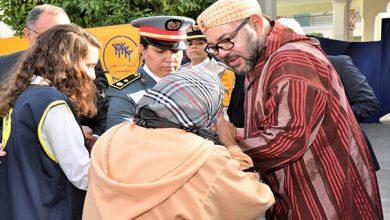 صورة الملك يطلق عملية توزيع الدعم الغذائي لرمضان على 3 ملايين مغربي