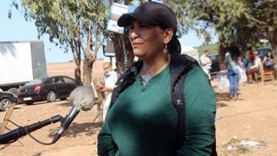 """صورة المخرجة جميلة بنعيسى البرجي عن """"سالف عذرا"""""""