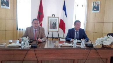 صورة القنصل الفرنسي يحل بمدينة الحسيمة