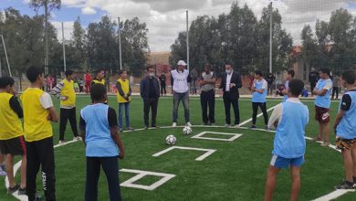 صورة موقع الكنتور للفوسفاط يعزز البنية التحتية الرياضية بإنجاز ملعب بقرية سيدي احمد