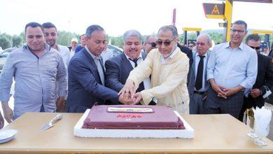 صورة وزان.. افتتاح محطة وقود جديدة تابعة لشركة أي إم بتروسيرفس