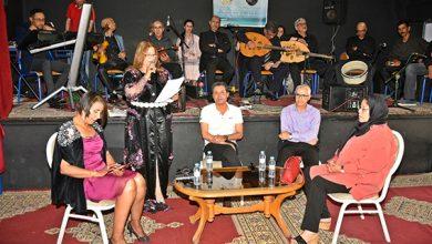 صورة تكريم وعرفان لوجوه فنية في حفل بهيج لجمعية ضلال الرقراق