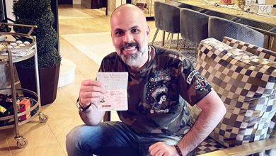 صورة المخرج اللبناني أنور عيد يوجّه رسالة شكر للإمارات