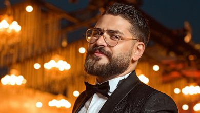 صورة حمد المجذوب يتألق ليلة زفافه بتصاميم العالمي عقل فقيه