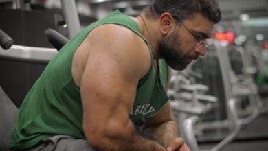 صورة رامي عادل من بائع متجول لاشهر مدرب لكمال الأجسام