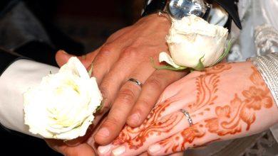 صورة طقوس الزواج المختلط بالمهجر للجالية الجزائرية المغربية. بستراسبورغ فرنسا عائلتي قدوري و مرزوقي عينة.