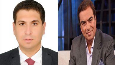 صورة محمد عبد المعز حميد يهنئ جورج قرداحي بوزارة الإعلام اللبنانية