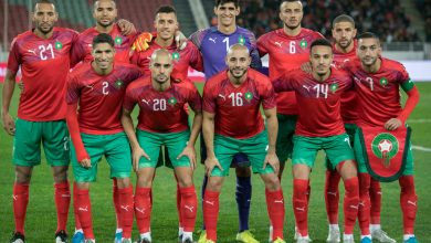 صورة المنتخب المغربي عاش أجواء حربية بغينيا