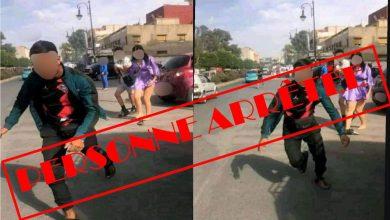 صورة توقيف القاصر المشتبه الرئيسي المتورط في توثيق ونشر فيديو الذي أثار ضجة بطنجة