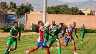"""صورة المغرب التطواني يواصل تذيل ترتيب """"السيغوندا"""" بعد تعادل سلبي مع أولمبيك الدشيرة"""